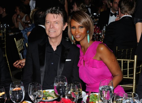 April 28, 2011: Bowie and Iman at DKMS' 5th Annual Gala: Linked Against Leukemia
